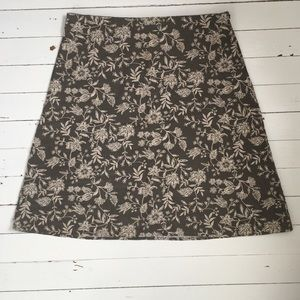 Eddie Bauer Linen Skirt